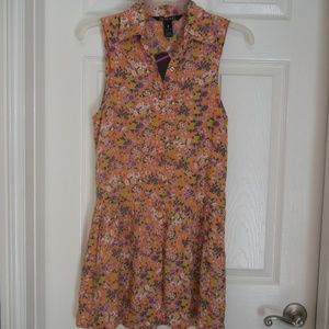 NWT Billabong Skater Everyday Floral Dress Size 8